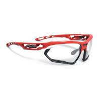 Lunettes Vélo Rudy project Fotonyk Fire Rouge Gloss ImpactX Photochromic