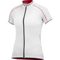 Maillot de vélo Craft Perf Glow Dame blanc noir rouge