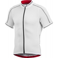 Maillot de vélo Craft Performance Glow Blanc Noir Rouge