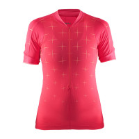 Maillot de vélo Craft Belle Glow Dame Rose