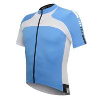 Maillot de vélo Zero Rh Agility Jersey bleu blanc