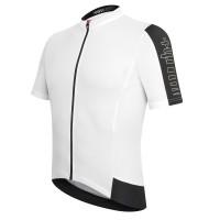 Maillot de vélo Zero Rh Energy Jersey FZ blanc noir