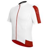 Maillot de vélo Zero Rh Energy Jersey FZ blanc rouge
