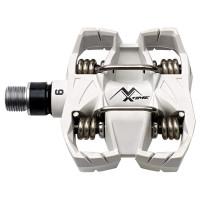 Pédales VTT Time Atac MX 6 blanches
