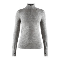 Sous vêtement technique Dame Craft Fuseknit Comfort Zip Gris