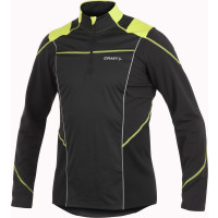 Sweat skating outdoors Craft Perf Thermal Wind Top Noir Jaune