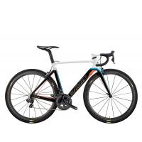 Kit Cadre Vélo de Route Wilier Cento10Air Taille M Blanc Orange Bleu Alabarda