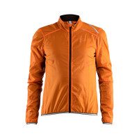 Veste de vélo Craft Lithe Jacket Orange Noir