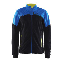 Veste Ski de Fond Craft Intensity Noir Bleu