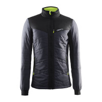 Veste Ski de fond Sportwear Craft Isolation Jacket Noir Jaune