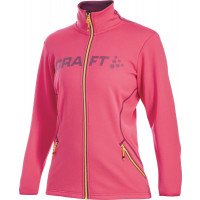 Veste Sportwear Craft Logo Full Zip Dame Rose