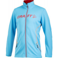 Veste Sportwear Craft Logo Full Zip Homme bleu