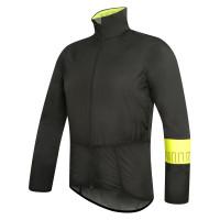 Veste vélo Pluie Zero Rh PW Extreme Pack Jacket noir jaune