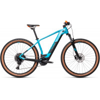 Velo VTT Electrique Cube Reaction Pro 625Wh 29 Petrol Orange 2021 T.L