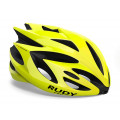 Casque Vélo de Route et VTT Rudy Project Rush Jaune Fluo