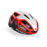 Casque Vélo de Route et VTT Rudy Project Spectrum Noir Blanc Rouge