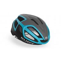 Casque Vélo de Route et VTT Rudy Project Spectrum Gris Turquoise Noir