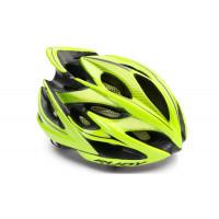 Casque Vélo de Route et VTT Rudy Project Windmax Jaune Fluo Noir Brillant
