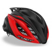 Casque Vélo de Route et VTT Rudy Project Racemaster Noir Rouge