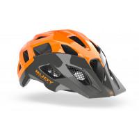 Casque VTT Rudy Project Crossway Gris Orange Brillant