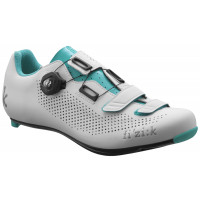 Chaussures Vélo Route Femme Fizik R4B Donna Blanc Emeraude