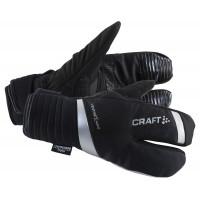 Gants de Vélo Craft Shield 3 Doigts Glove hiver noir