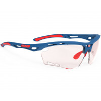 Lunettes Vélo Rudy project Propulse Pacific Blue Mat ImpactX Photochromic