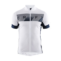 Maillot de vélo Craft Reel Blanc Bleu