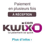 Paiement en plusieurs fois avec Kwixo